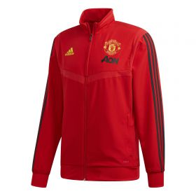 Manchester United Presentation Jacket - Red