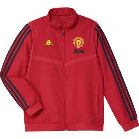 Manchester United Presentation Jacket - Red - Kids