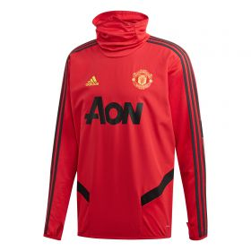 Manchester United Training Warm Top - Red