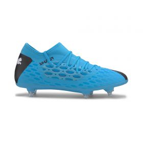 Puma FUTURE 5.3 NETFIT Soft Ground Football Boots - Blue