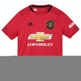 Manchester United Home Shirt 2019 - 20 - Kids with Jones 4 printing