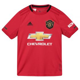 Manchester United Home Shirt 2019 - 20 - Kids with Pogba 6 printing
