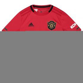 Manchester United Home Shirt 2019 - 20 - Kids with Rashford 10 printing