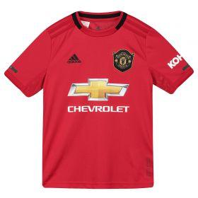 Manchester United Home Shirt 2019 - 20 - Kids with Wan-Bissaka 29 printing