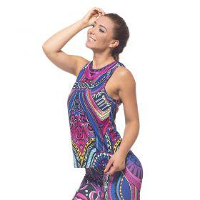 Дамски Потник EX FIT Training Top Colorful Maori