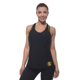 Дамски Потник EX FIT Training Top Spider Yellow
