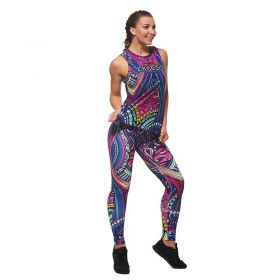 Дамски Комплект Клин / Топ EX FIT Colorful Maori