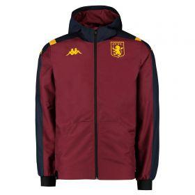 Aston Villa Rain Jacket - Claret - Kids