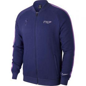 Tottenham Hotspur Fleece Track Jacket - Blue