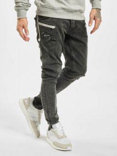 2Y / Slim Fit Jeans Marled in grey