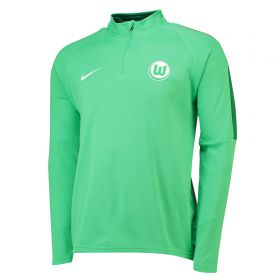 VfL Wolfsburg Training Drill Top - Green