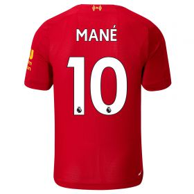 Liverpool Home Shirt 2019-20 - Kids with Mané 10 printing