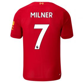Liverpool Home Shirt 2019-20 - Kids with Milner 7 printing