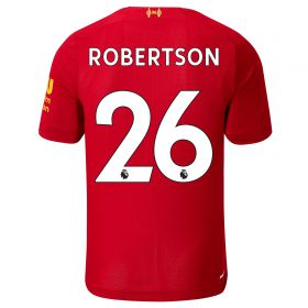 Liverpool Home Shirt 2019-20 - Kids with Robertson 26 printing
