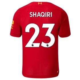 Liverpool Home Shirt 2019-20 - Kids with Shaqiri 23 printing