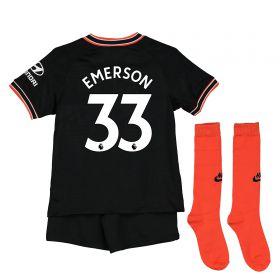 Chelsea Third Stadium Kit 2019-20 - Little Kids with Emerson 33 printing