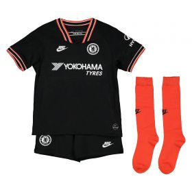 Chelsea Third Stadium Kit 2019-20 - Little Kids with Azpilicueta 28 printing