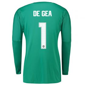 Manchester United Home Cup Goalkeeper Shirt 2018-19 with De Gea 1 printing