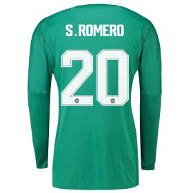 Manchester United Home Cup Goalkeeper Shirt 2018-19 with S.Romero 22 printing