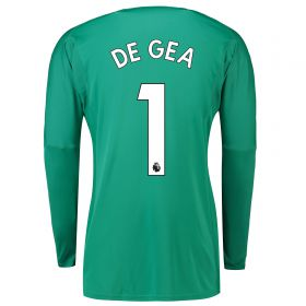 Manchester United Home Goalkeeper Shirt 2018-19 with De Gea 1 printing