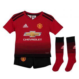 Manchester United Home Mini Kit 2018-19