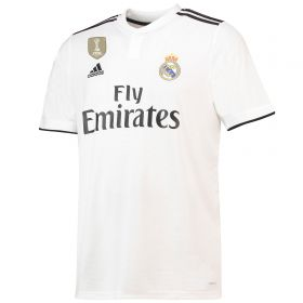 Real Madrid Home Shirt 2018-19 with Bale 11 printing