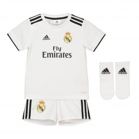 Real Madrid Home Baby Kit 2018-19 with Valverde 15 printing