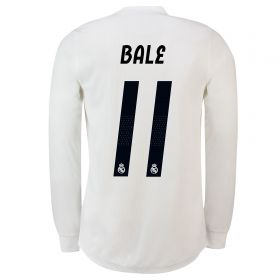 Real Madrid Home Adi Zero Shirt 2018-19 - Long Sleeve with Bale 11 printing
