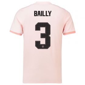 Manchester United Away Cup Shirt 2018-19 with Bailly 3 printing