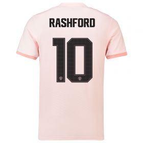 Manchester United Away Cup Shirt 2018-19 with Rashford 10 printing