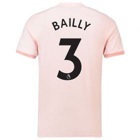 Manchester United Away Shirt 2018-19 with Bailly 3 printing