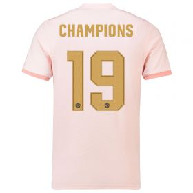 Manchester United Cup Away Shirt 2018-19 with Champions 19 printing