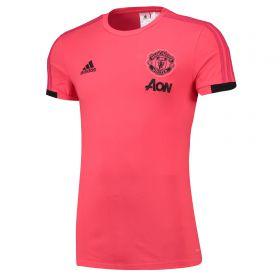 Manchester United Training T-Shirt - Pink