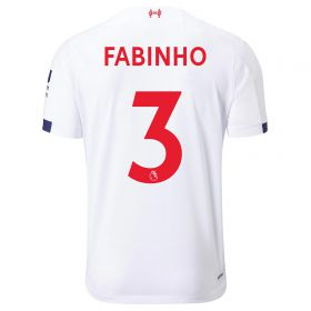 Liverpool Away Shirt 2019-20 - Kids with Fabinho 3 printing