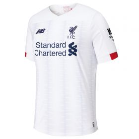 Liverpool Away Shirt 2019-20 - Kids with Virgil 4 printing