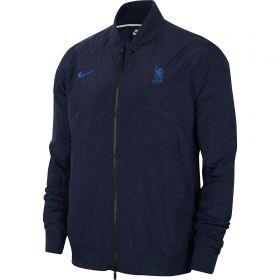Chelsea Nike Varsity Jacket - Mens