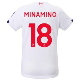 Liverpool Away Shirt 2019-20 - Womens with Minamino 18 printing