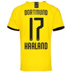 BVB Home Shirt 2019-20 with Haaland 17 printing