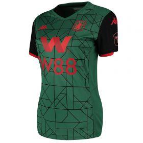 Aston Villa Third Shirt 2019-20 - Womens with Douglas Luiz 6 printing