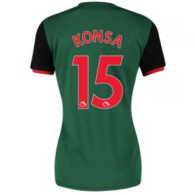 Aston Villa Third Shirt 2019-20 - Womens with Konsa 15 printing