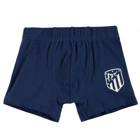 Atlético de Madrid Boxer Shorts - Navy - Junior