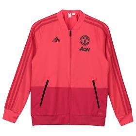Manchester United Training Presentation Jacket - Pink - Kids