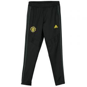 Manchester United Training Pant - Black - Kids