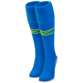 Brazil Away Stadium Socks 2018