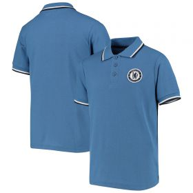 Chelsea Core Tipped Polo Shirt - Blue - Boys