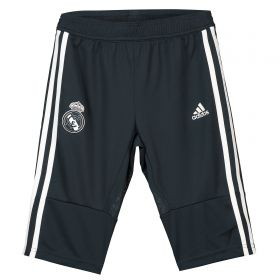Real Madrid Training 3/4 Pant - Dark Grey - Kids