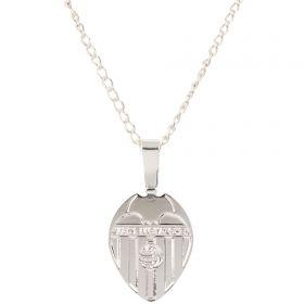 Valencia CF Pendant & Chain - Silver Plated