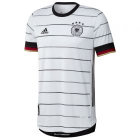 Germany Authentic Home Shirt 2019-21 with Goretzka 18 printing