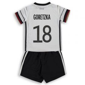 Germany Home Babykit 2019-21 with Goretzka 18 printing
