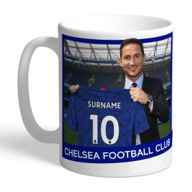 Chelsea Personalised Lampard Manager Mug